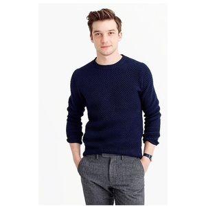 J. Crew Men's Cotton Stitch Crewneck Sweater